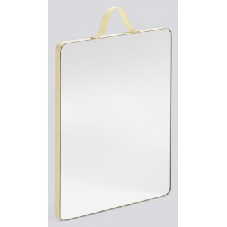 M, pale yellow - Ruban mirror