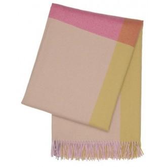 rose vif / beige - plaid...