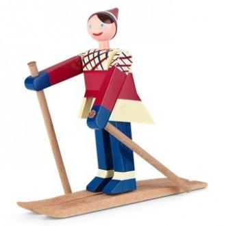 Datti, la fille - Les skieurs