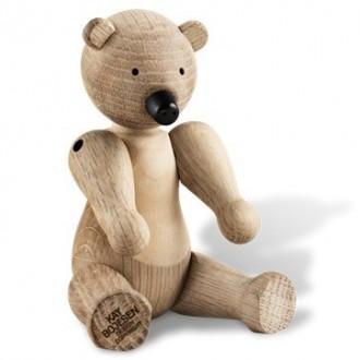 bear - S - H15 cm – oak/maple