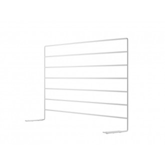 wire screen 58x32cm - white...