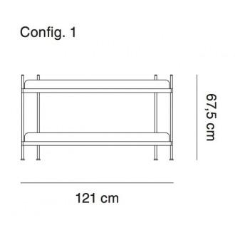 configuration 1 - étagère...