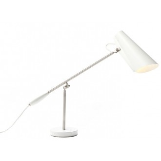 blanc / métal - lampe de...